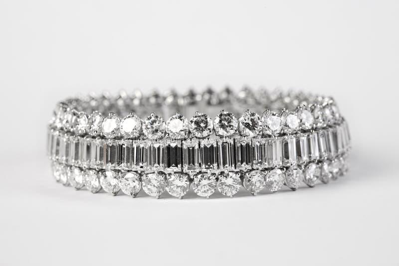 диамант браслета стоковое изображение rf