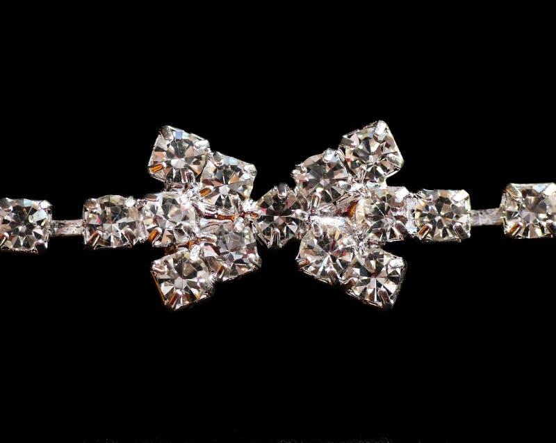 Download диамант детали браслета стоковое фото. изображение насчитывающей jewelery - 6852156
