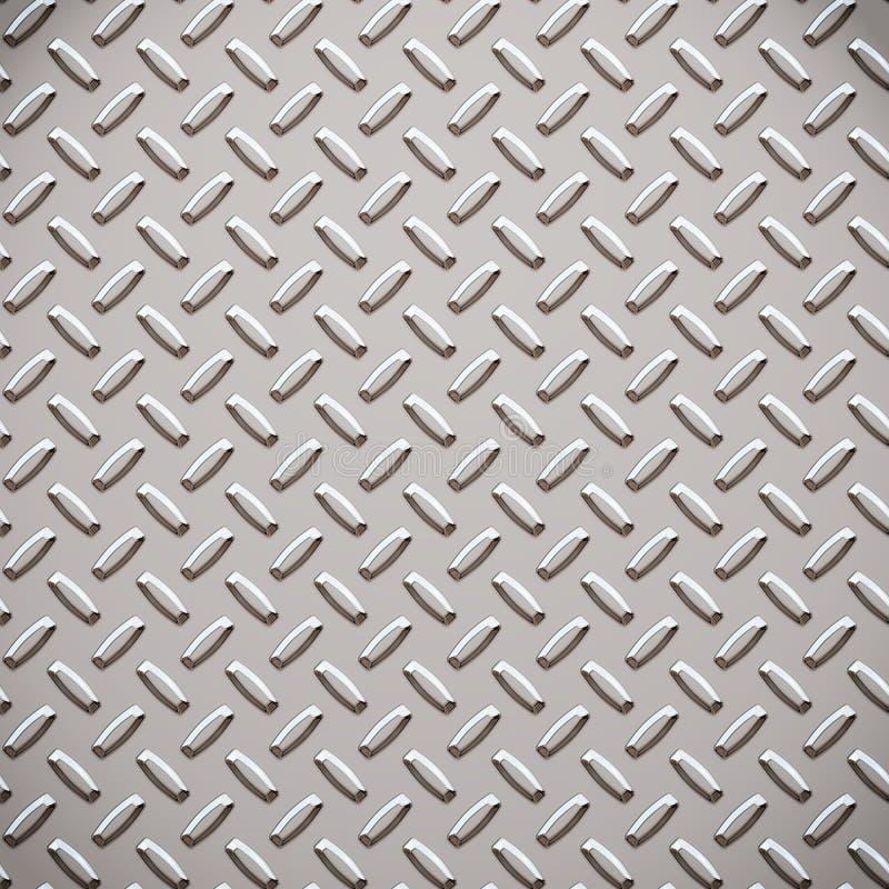 диамант сплава металлопластинчатый иллюстрация вектора