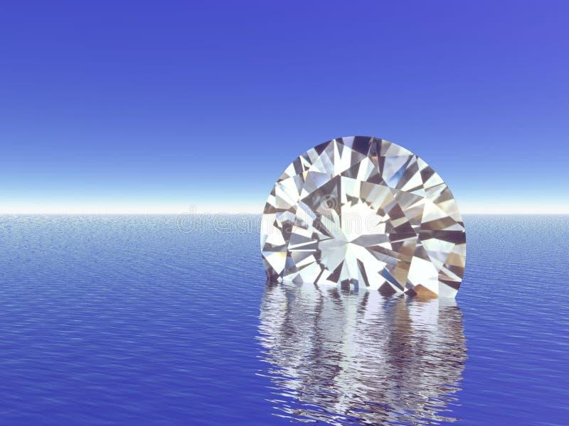 диамант иллюстрация вектора