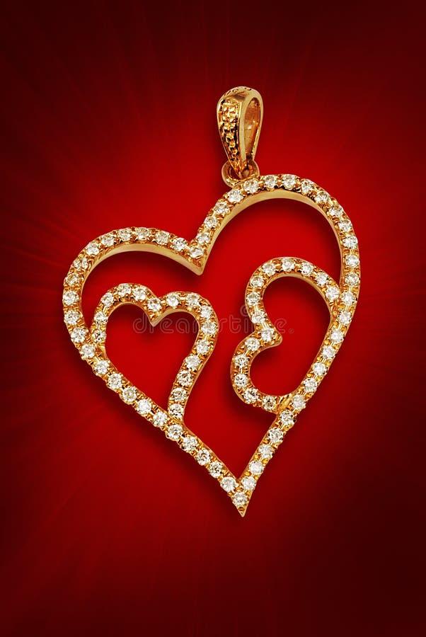 диамант pendent стоковое изображение