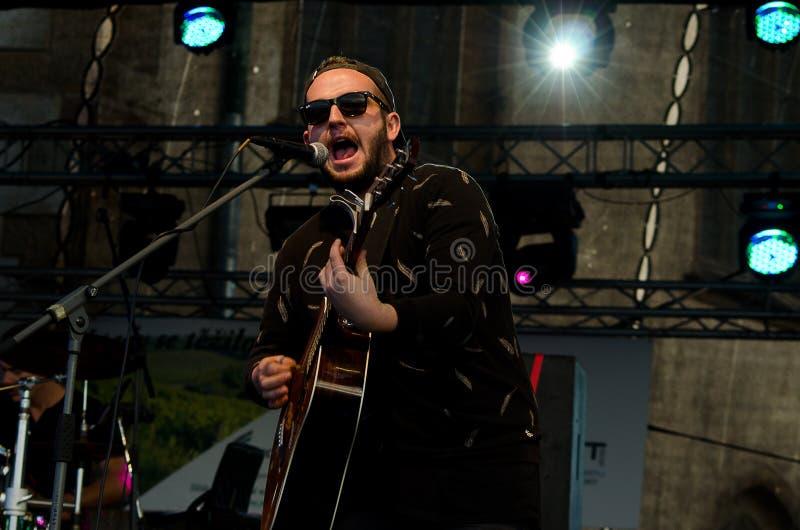 Диапазон концерта Lenny стоковая фотография rf