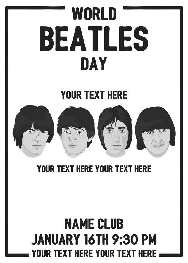 Диапазон Beatles бесплатная иллюстрация