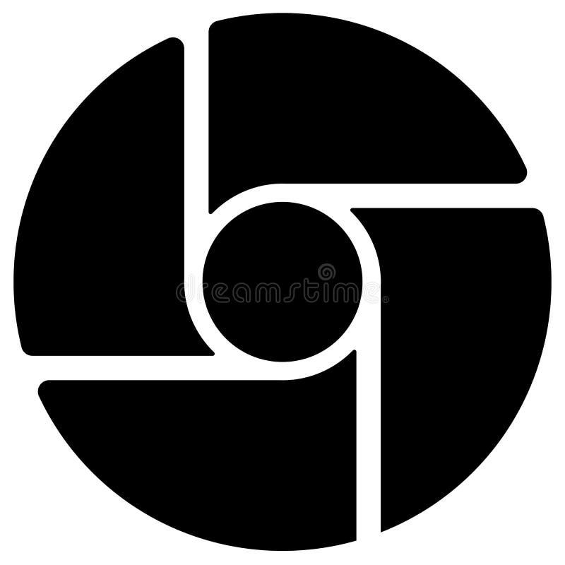 Download Диафрагма любит круговой символ для фотографии, технологии, гена Иллюстрация вектора - иллюстрации насчитывающей объектив, центр: 81813473