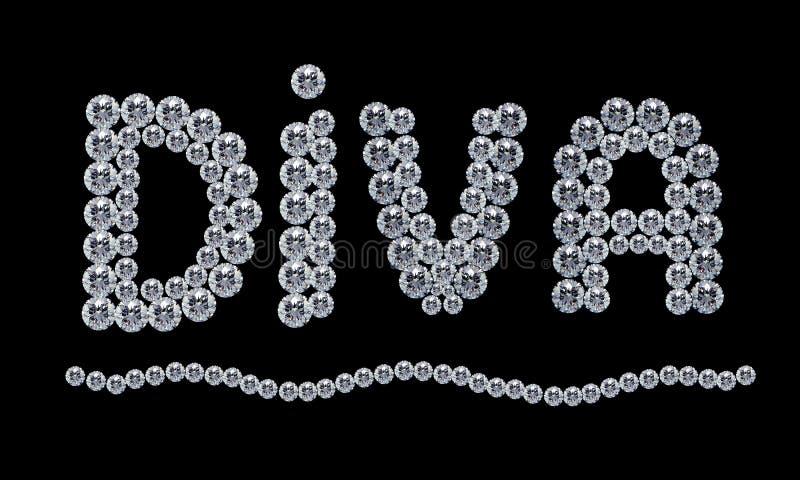 дива диаманта стоковая фотография