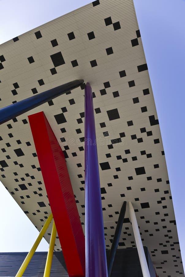 диез конструкции центра стоковая фотография rf