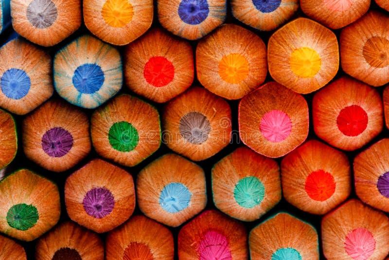 Диез цветастого crayon для chidren стоковое изображение rf