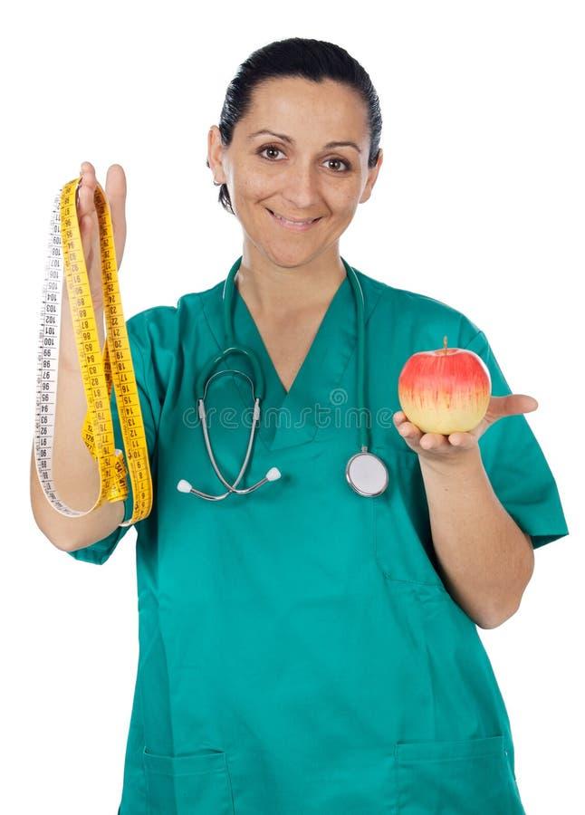 диетпитание внимательности медицинское стоковое изображение rf
