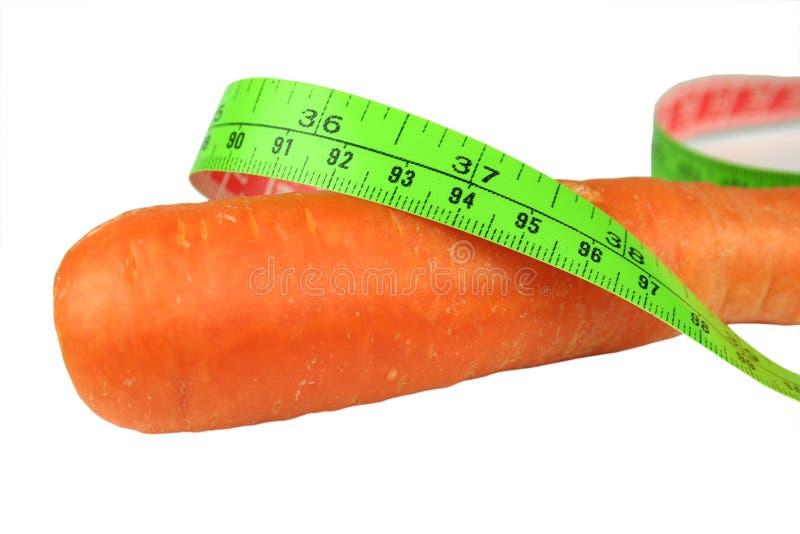 диетпитание крупного плана моркови Стоковое фото RF