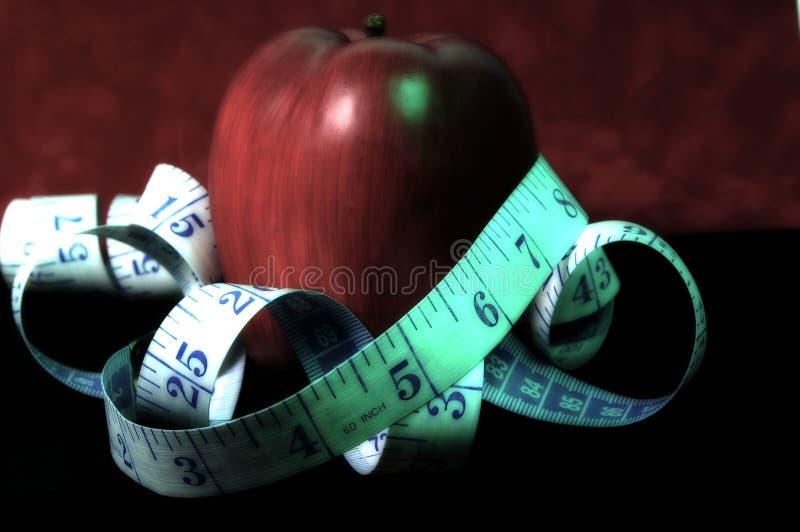 диетпитание яблока стоковая фотография