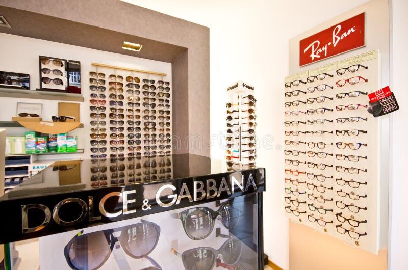 Дизайнерские рамки eyeglass стоковые изображения