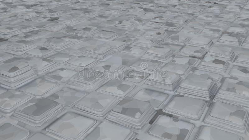 Дизайны конспекта бело-серого мрамора стоковая фотография