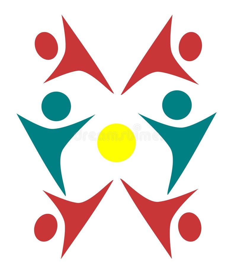 Дизайны логотипов людей бесплатная иллюстрация