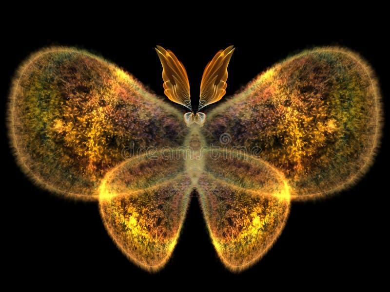 Дизайн бабочки иллюстрация штока