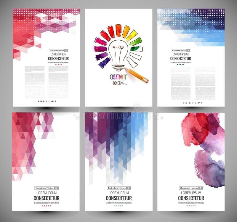 Дизайн бара прогресса, нагружая творческие способности вектор бесплатная иллюстрация