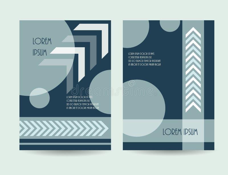 Дизайн брошюры дела также вектор иллюстрации притяжки corel Каталог c компании иллюстрация штока