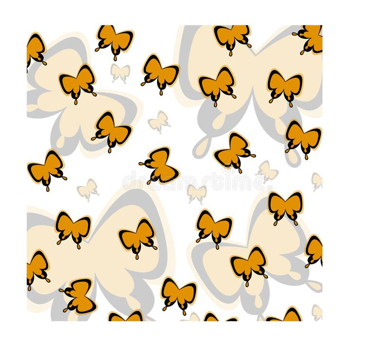 Дизайн вектора бабочки для предпосылки или картины стоковые изображения