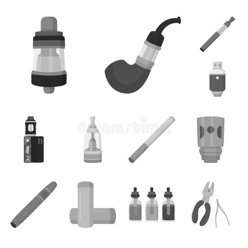 Дизайн вектора символа оборудования и трубы Собрание оборудования и иллюстрации вектора запаса вкуса иллюстрация вектора