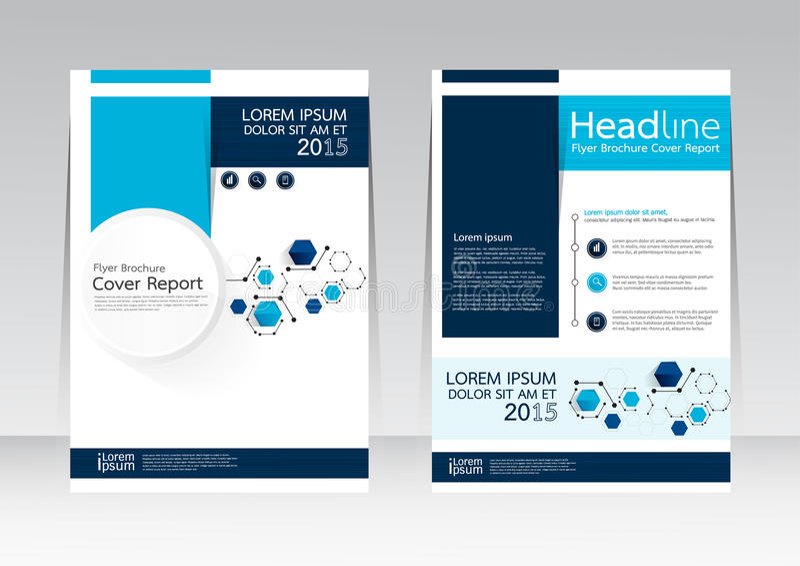 Дизайн вектора для плаката рогульки брошюры отчете о крышки в размере A4 стоковое изображение