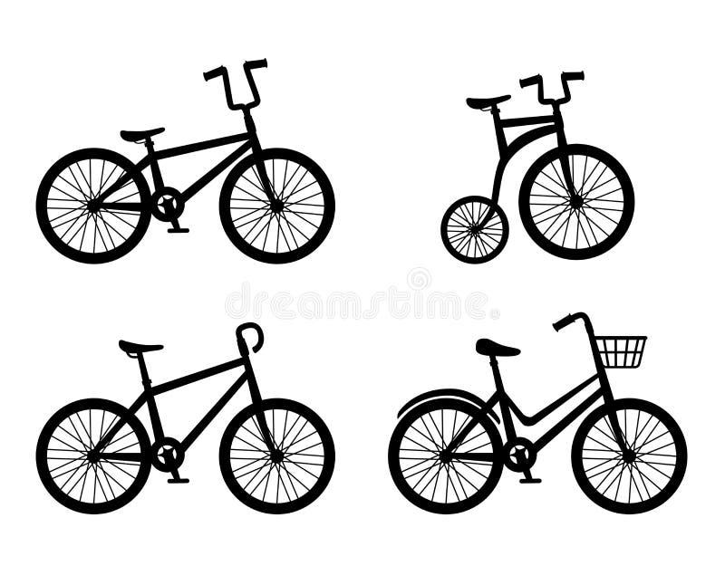 Дизайн велосипеда иллюстрация штока