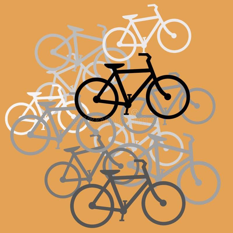 Дизайн велосипедов стоковое изображение