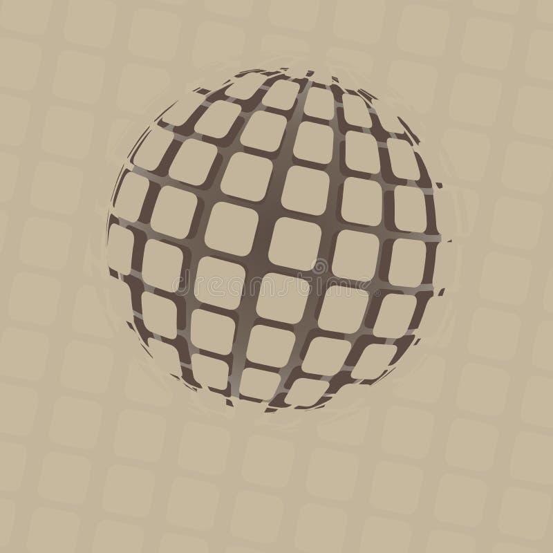 Дизайн глобуса сферы бесплатная иллюстрация