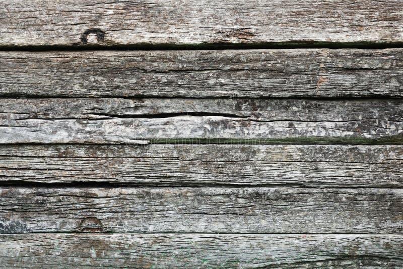 Дизайн естественной предпосылки текстуры старого деревянного железнодорожного оформления конструкции архитектуры слиперов абстрак стоковые изображения