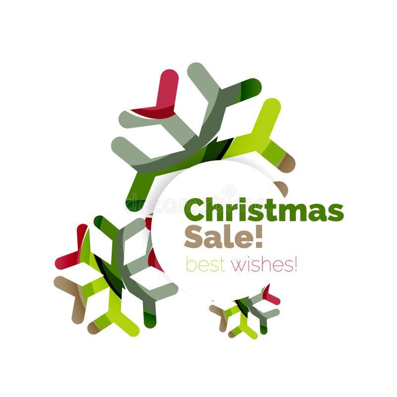 Download Дизайн знамени продвижения рождества и Нового Года Иллюстрация вектора - иллюстрации насчитывающей весело, подарок: 81804894
