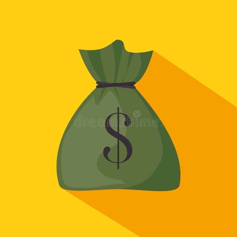 Дизайн значка денег иллюстрация вектора
