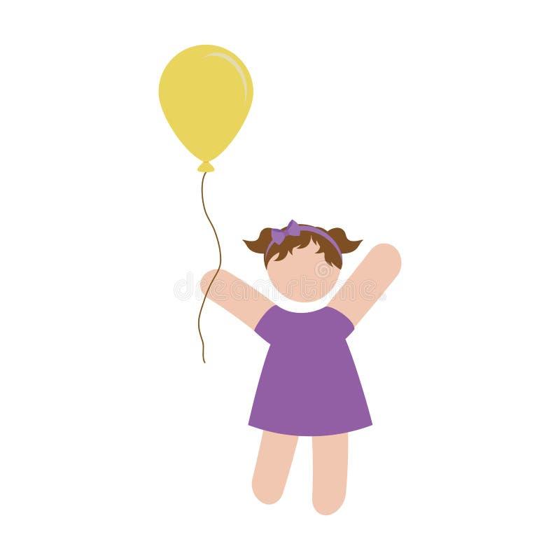 Download Дизайн значка девушки иллюстрация вектора. иллюстрации насчитывающей lifestyle - 81800896