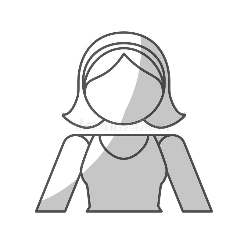 Download Дизайн значка женщины иллюстрация вектора. иллюстрации насчитывающей персона - 81801257