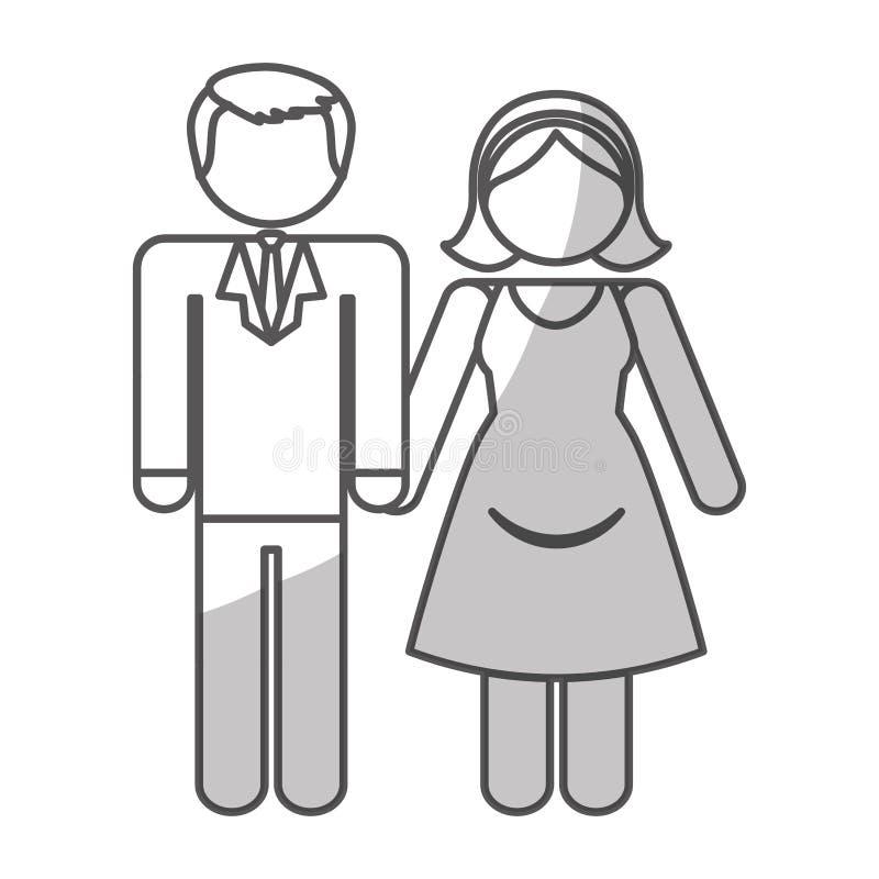 Download Дизайн значка пар иллюстрация вектора. иллюстрации насчитывающей открытка - 81801274