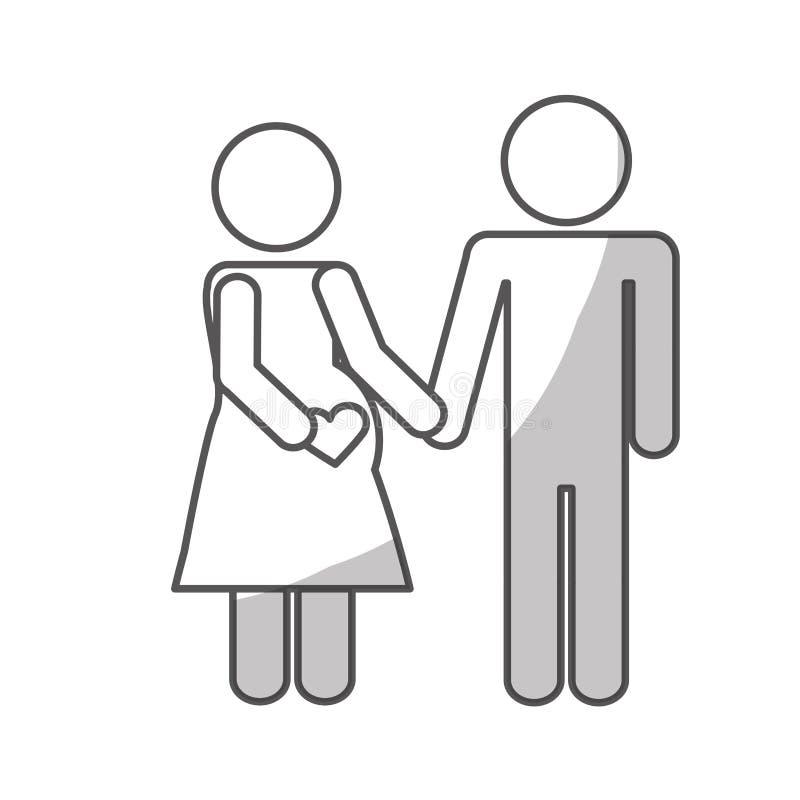 Download Дизайн значка пар иллюстрация вектора. иллюстрации насчитывающей украшение - 81801507