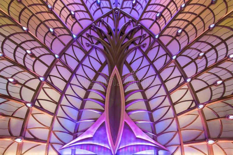 Дизайн интерьера казино галактики Макао стоковые фотографии rf