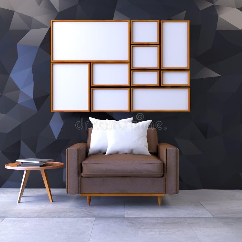 Дизайн интерьера бесплатная иллюстрация