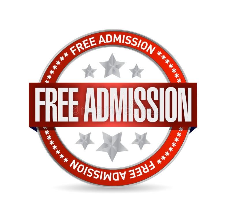 Дизайн иллюстрации уплотнения бесплатного входа бесплатная иллюстрация
