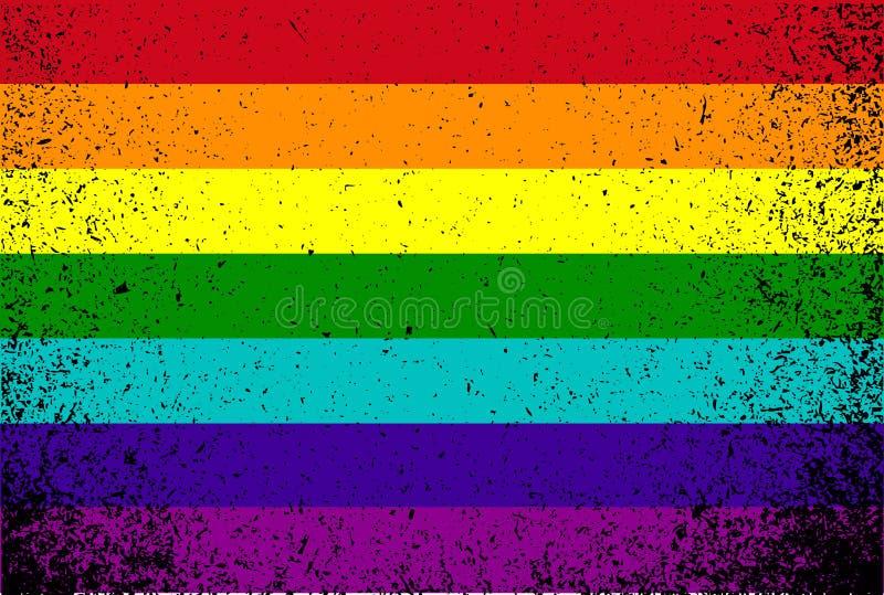 Download Дизайн иллюстрации Grunge флага цвета гордости Иллюстрация штока - иллюстрации насчитывающей bluets, культура: 33729571