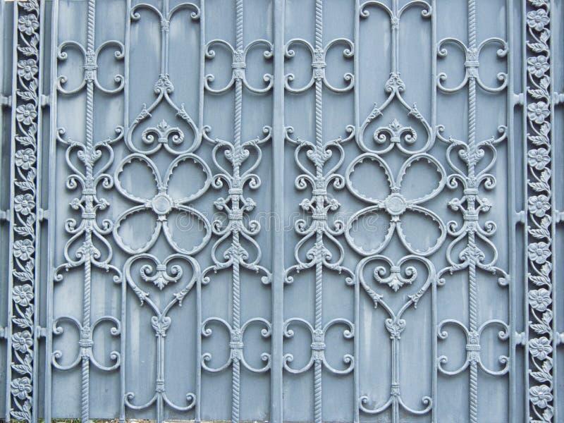 дизайн картины цветка сплава или металлического строба стоковое фото rf