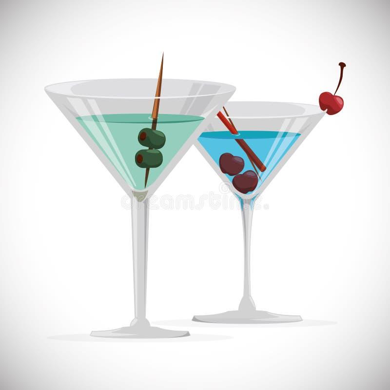 Дизайн коктеиля бесплатная иллюстрация