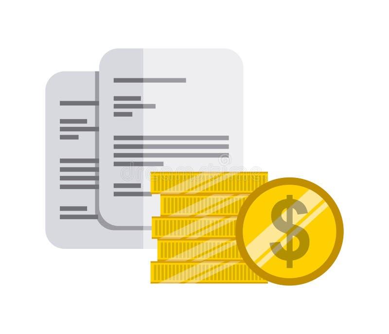 Дизайн концепции денег бесплатная иллюстрация