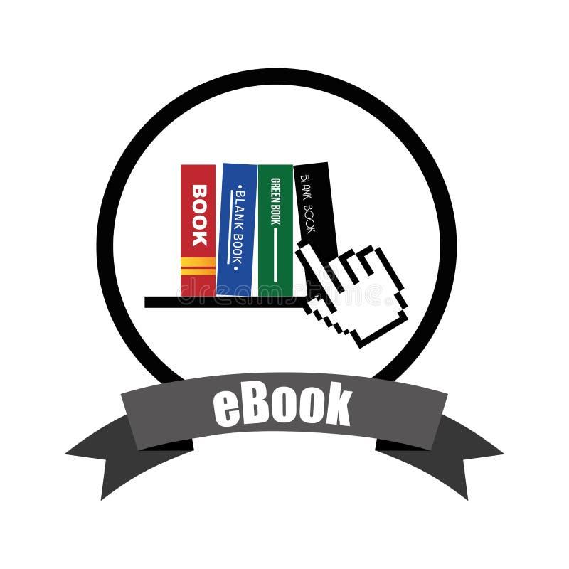Дизайн концепции EBook бесплатная иллюстрация