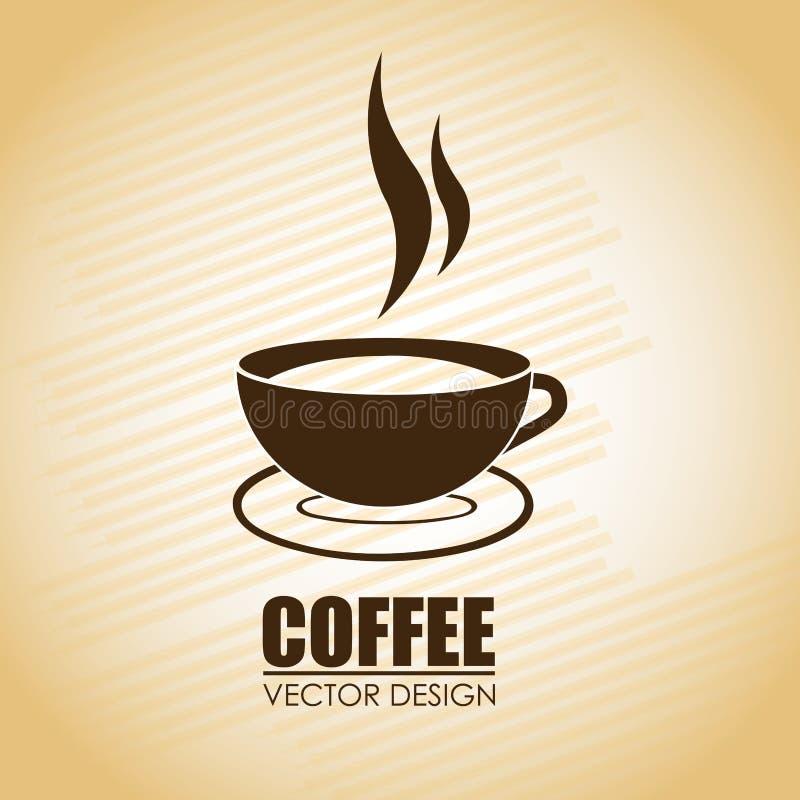 Дизайн кофе бесплатная иллюстрация