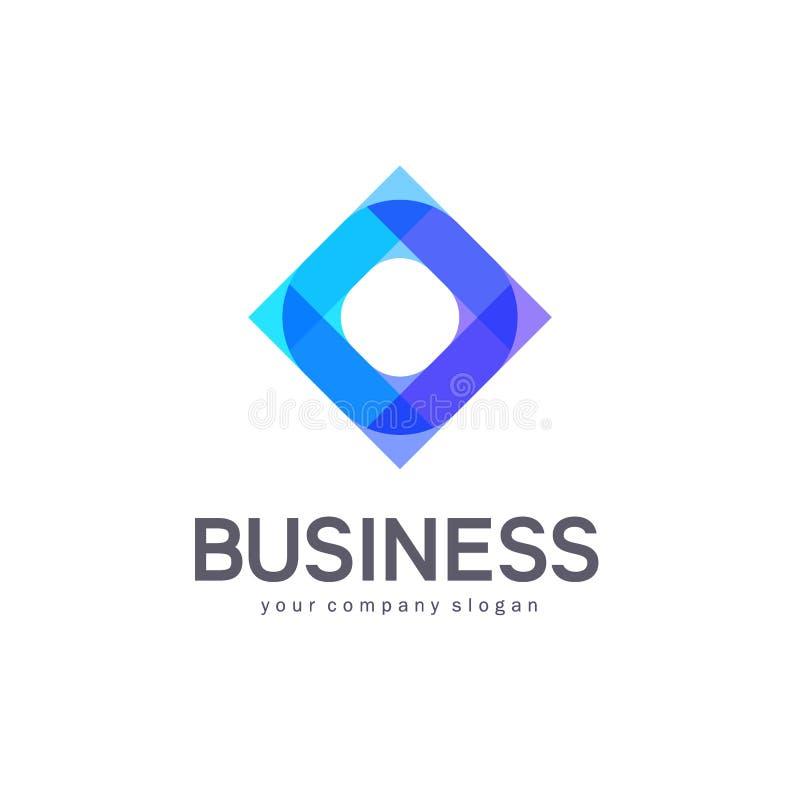 Дизайн логотипа вектора для дела абстрактная икона иллюстрация штока