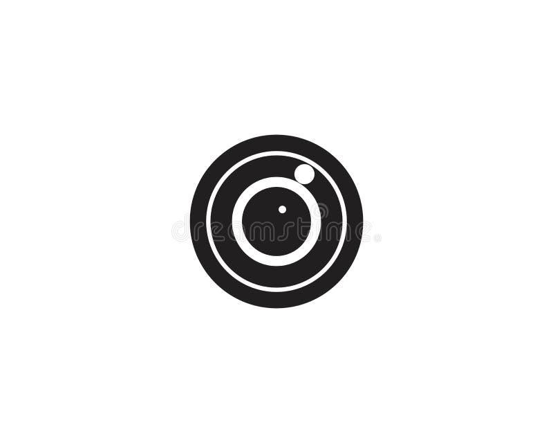 Дизайн логотипа вектора заботы глаза бесплатная иллюстрация