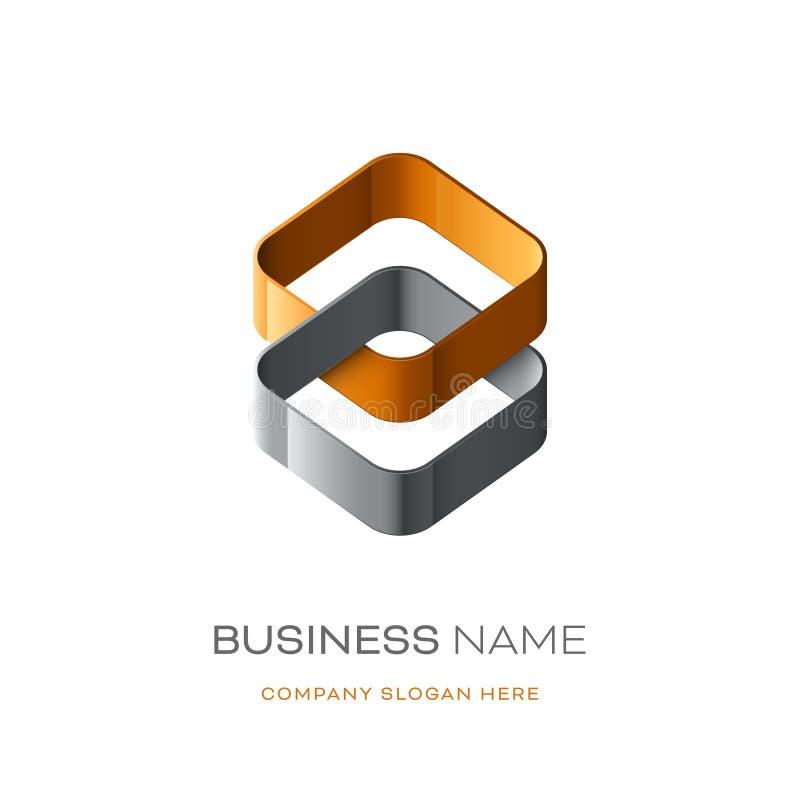 Дизайн логотипа Astract бесплатная иллюстрация