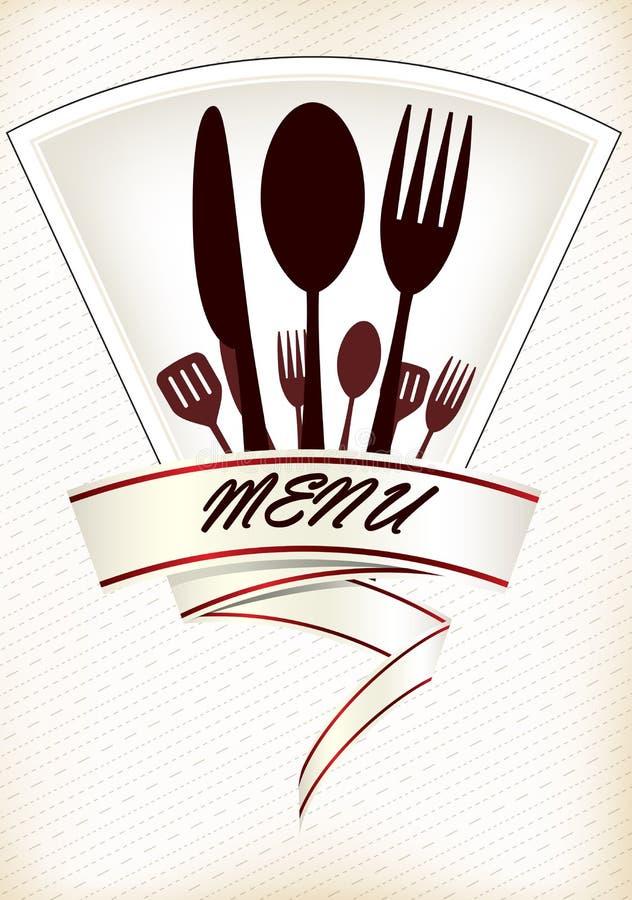 Дизайн меню ресторана бесплатная иллюстрация
