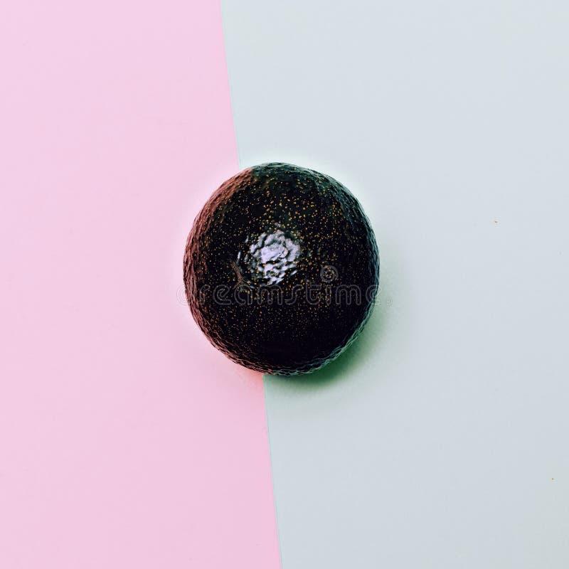 Дизайн моды авокадоа Ванильный плодоовощ стиля стоковые фотографии rf