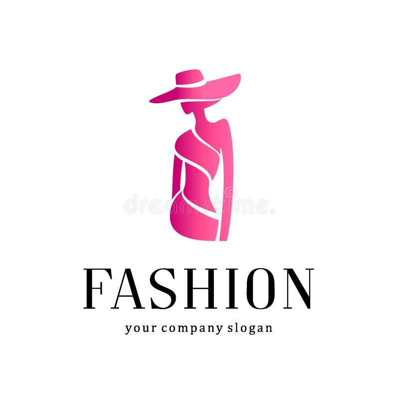 Дизайн логотипа вектора Способ бесплатная иллюстрация