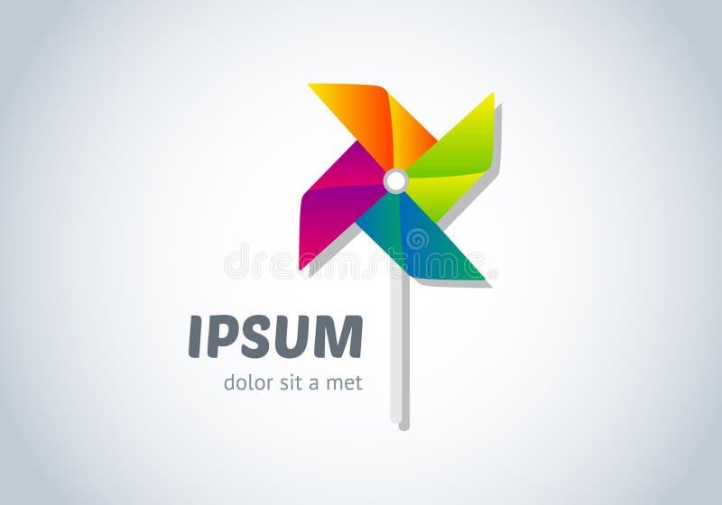 Дизайн логотипа вектора иллюстрация вектора