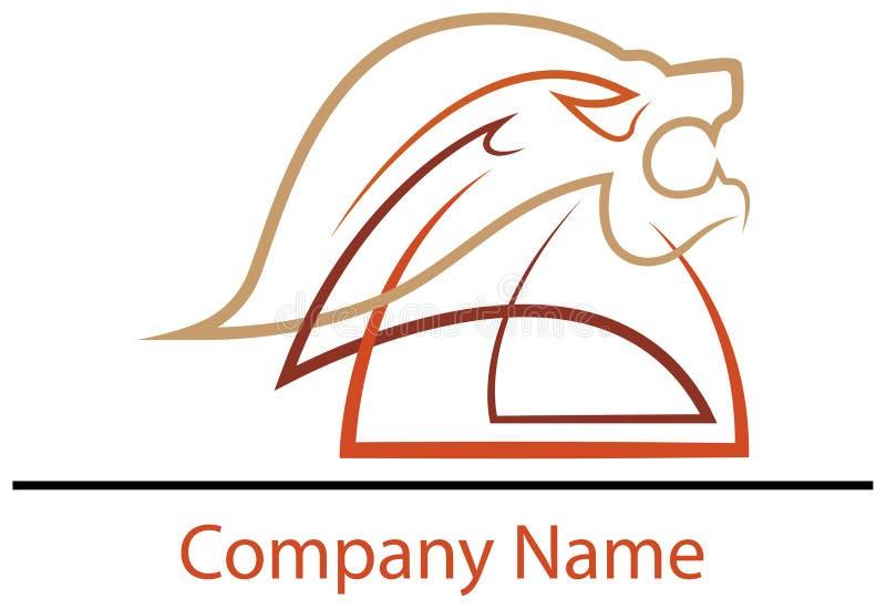 Дизайн логотипа льва головной бесплатная иллюстрация